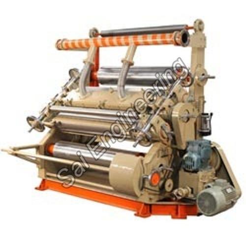 Fingerless Type Single Facer Paper Corrugation Machine