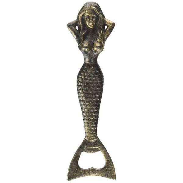 Fish shaped cast iron bottle opener
