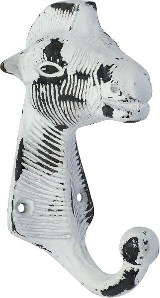 Shabby chic animals shaped cast iron coat hook
