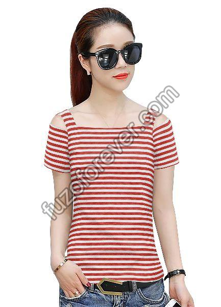Red Tipsy 241 Top