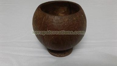Coconut Shell Mug Unpolished