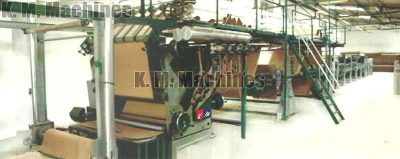 Automatic 3 Ply Paper Corrugated Board Making Plant