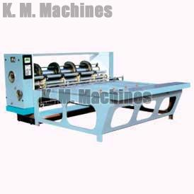 Combined Rotary Creasing, Slotting & Slitting Machine