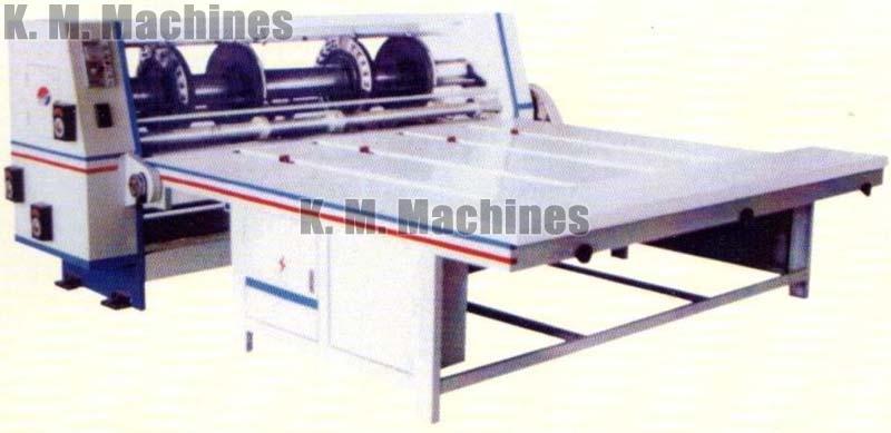 Corrugated Board Creasing, Slitting, Slotting & Corner Cutting Machine