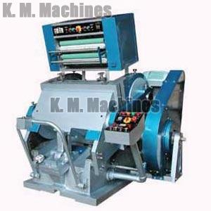 Hot Foil Platen Die Cutting Machine