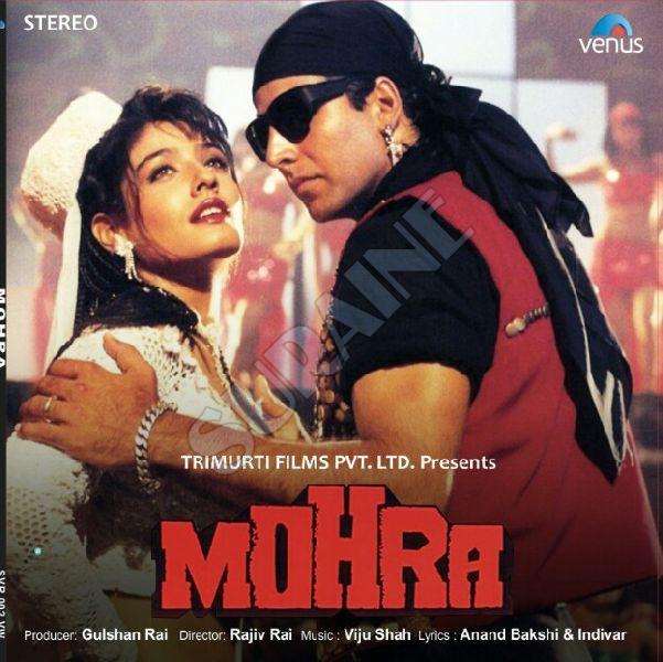 Mohra Movie Vinyl Record Disc 01