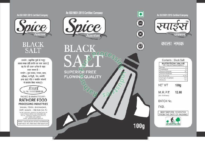 Spice Junction Black Salt
