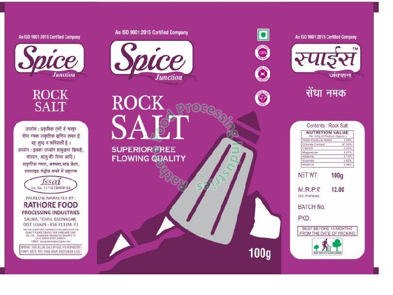 Spice Junction Rock Salt