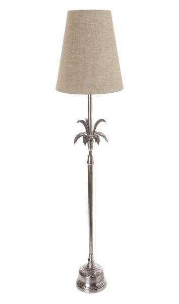 Aluminium Table Lamp with Pineapple Leaf