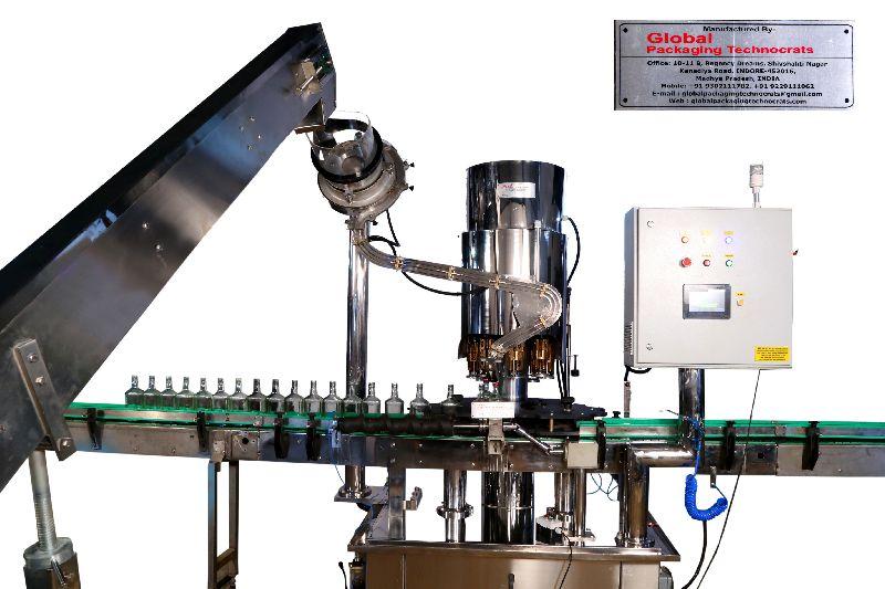 Fully Automatic Bottle Cap Sealing Machine