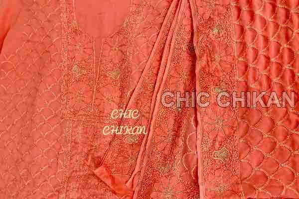 Pure Georgette Fabric 01