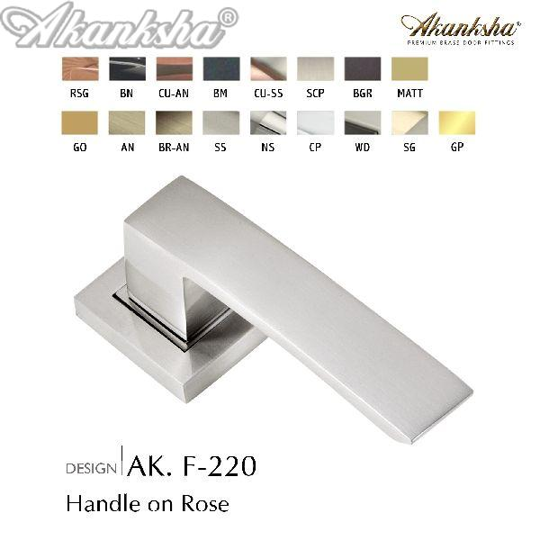 F-220 Brass Door Handle