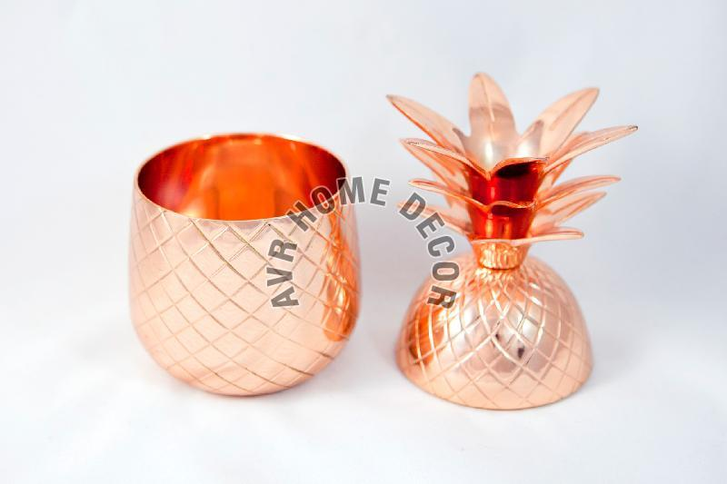 Copper Pineapple Cocktail Tumbler 02
