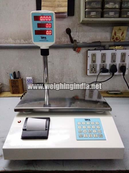 Price Counting Weighing Scale with Printer