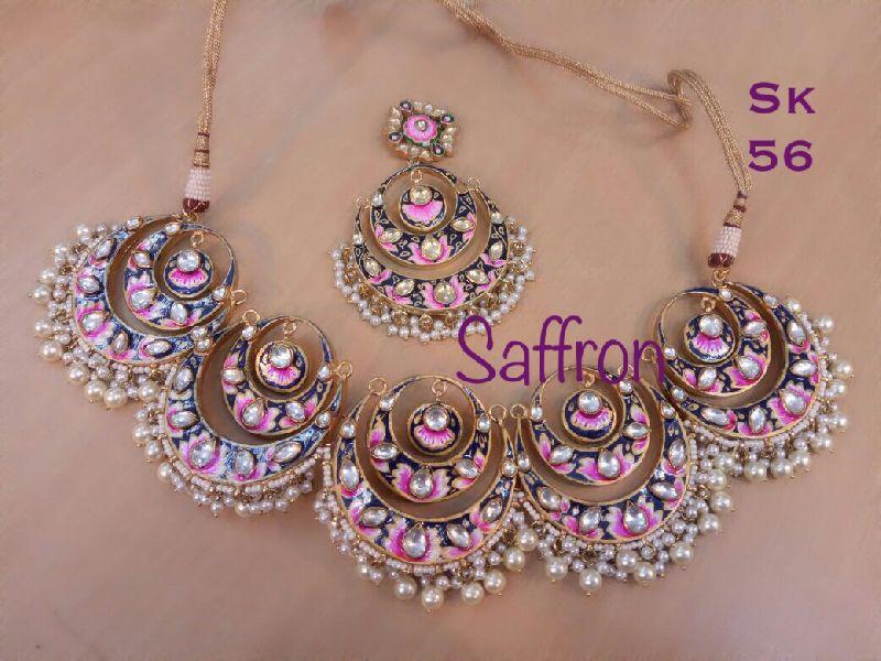 Hasinas Pink Meenakari Set SK 0056