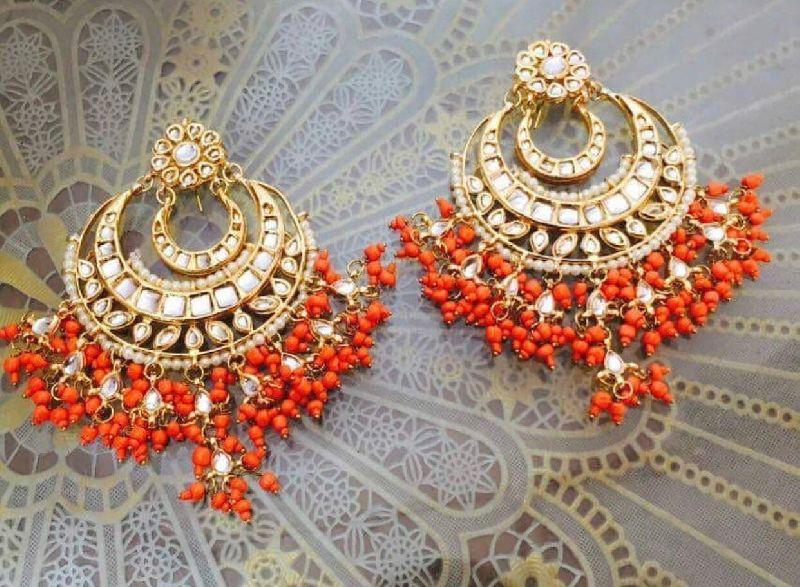 Reena Orange Chaandbaali SK 0061