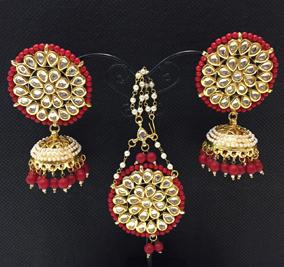 Ridhima Red Tikka Set SK 0081