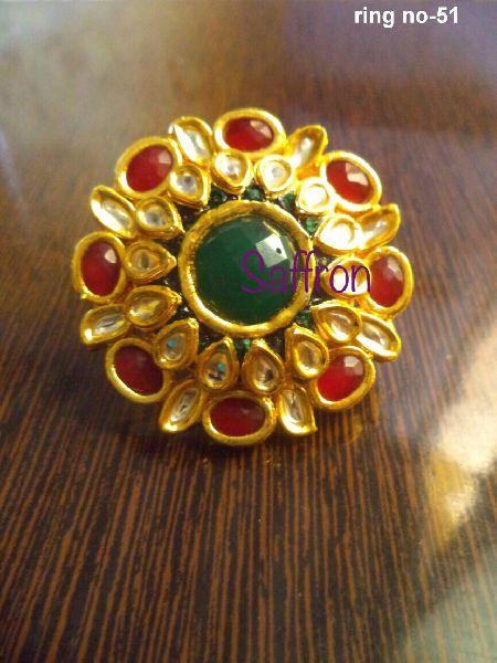 Rubina's Kundan Ring SK 009