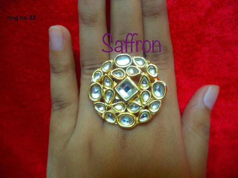 Zareen Kundan Ring SK 007