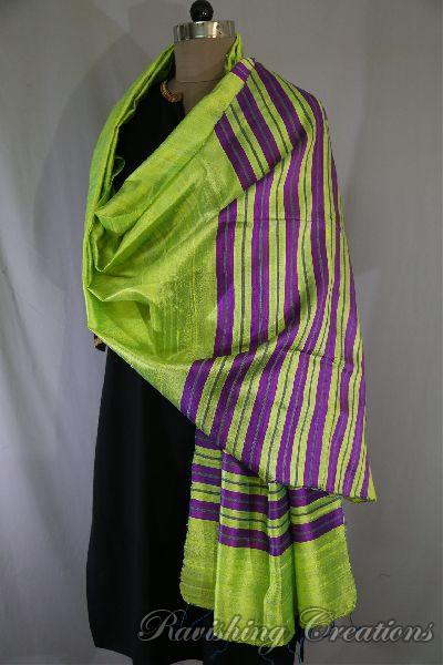 Dupion Silk Multi Color Dupattas 02