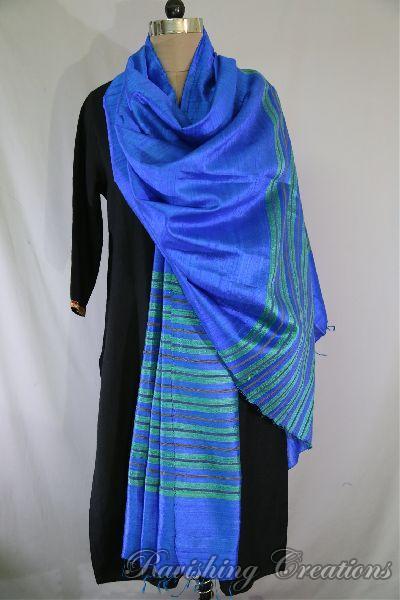 Dupion Silk Multi Color Dupattas 03