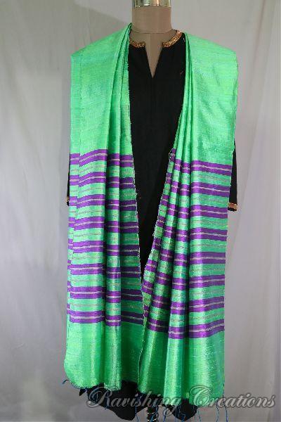 Dupion Silk Multi Color Dupattas 08