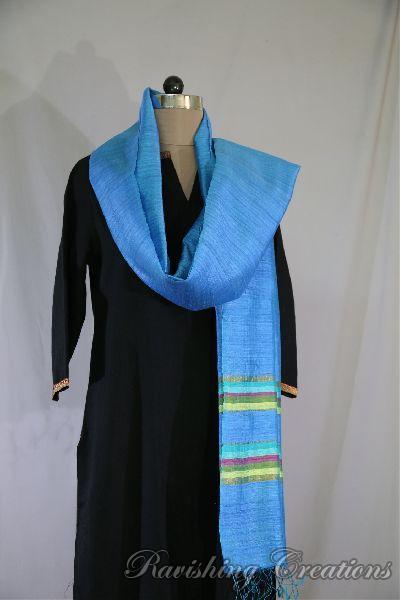 Dupion Silk Multi Color Dupattas 09