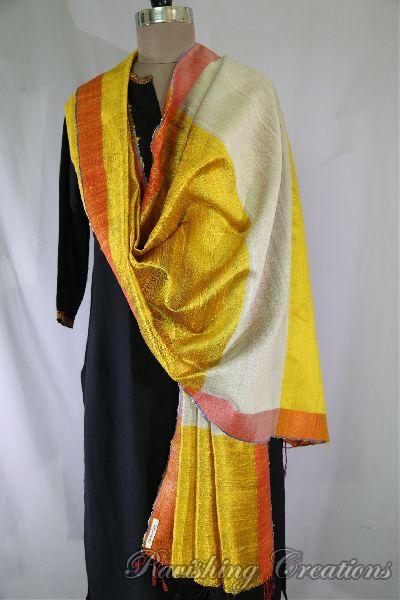Dupion Silk Multi Color Dupattas 11