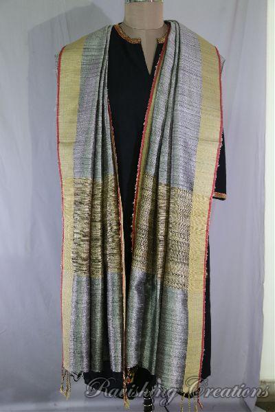 Dupion Silk Multi Color Dupattas 14