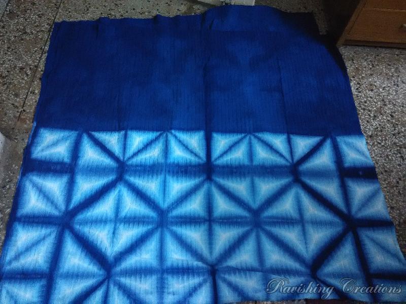 Hand Painted Handloom Cotton Saree 08