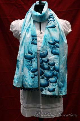 Hand Painted Stole 01