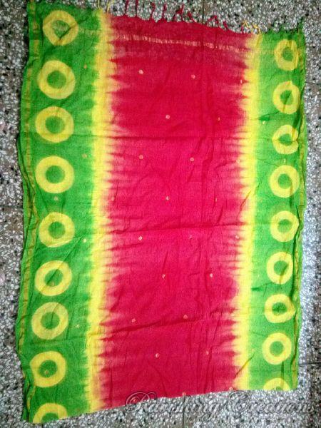 Shibori Cotton Managalgiri Dupattas 03