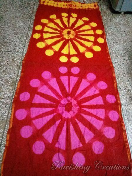 Shibori Cotton Managalgiri Dupattas 05