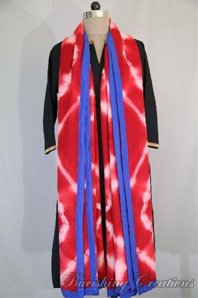 Shibori Woolen Shawls 13