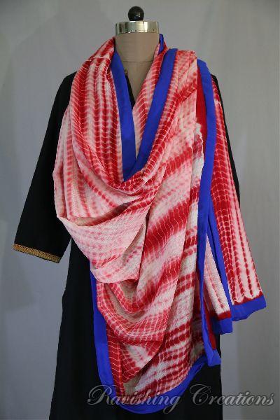 Shibori Woolen Shawls 15