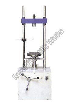 Motorized Triaxial Shear Test Apparatus