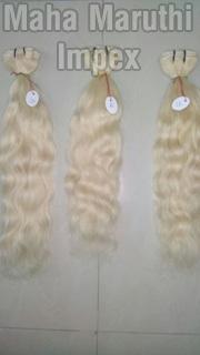 Blonde Human Hair