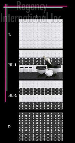 300x450mm Glossy 1 Series Wall Tiles 04
