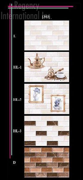 300x450mm Glossy 5 Series Wall Tiles 03