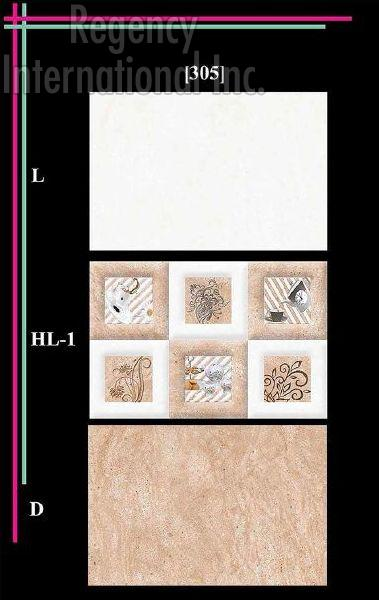 300x450mm Glossy 5 Series Wall Tiles 05