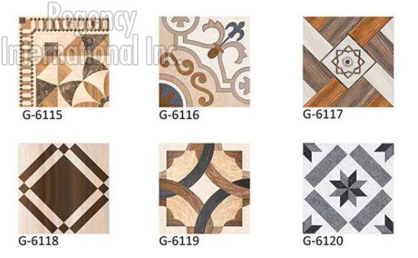 400x400mm Digital Floor Tiles 01