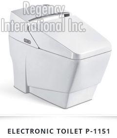 Electronic Ceramic Toilet 01