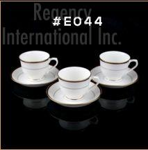 Gold Chain Gold Line Series Cup & Saucer Set 04
