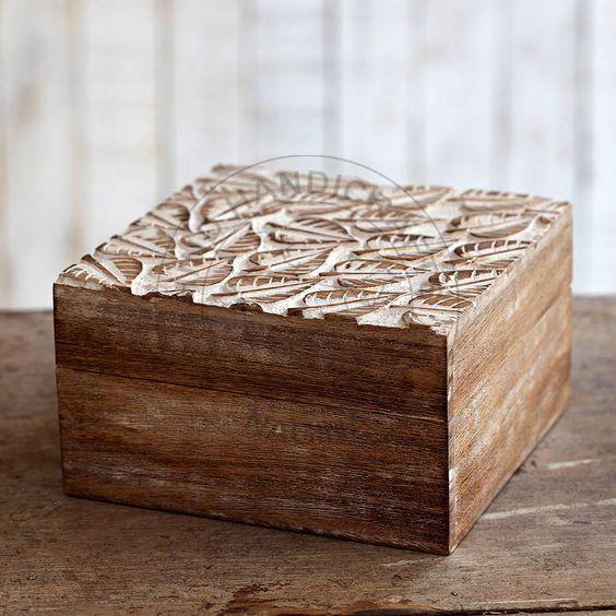 HHC04 Antique Jewelry Box