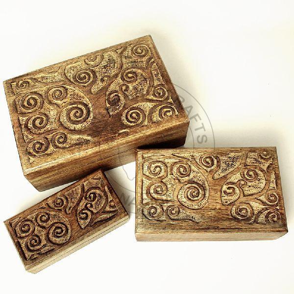 HHC05 Antique Jewelry Box