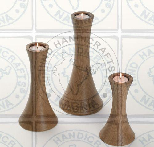 HHC153 Wooden Candle Holder