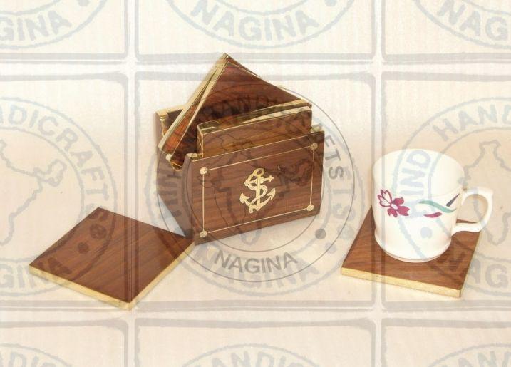 HHC160 Wooden Coaster Set