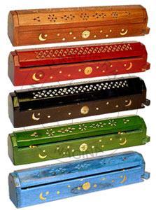 HHC205 Wooden Incense Stick Box