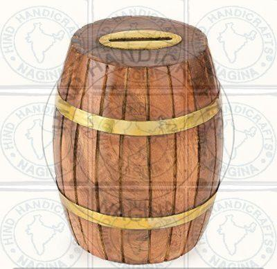 HHC230 Wooden Money Bank