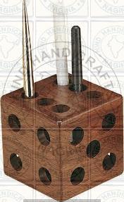 HHC242 Wooden Pen Holder